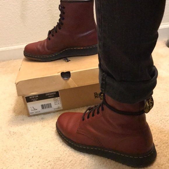 6f161c970e8191 Dr. Martens Other - Newton Cherry Red Rouge - Temperley